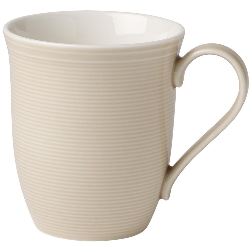 빌레로이 앤 보흐 컬러 루프 머그 Villeroy & Boch Color Loop Sand Mug 11.75 oz