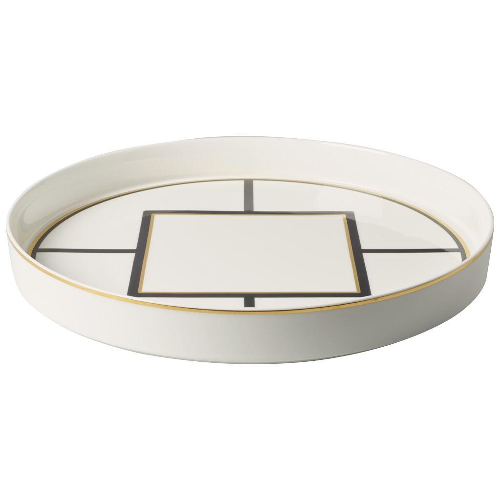 빌레로이 앤 보흐 '메트로 시크' 기프트 데코레이티브 볼 Villeroy & Boch MetroChic Gifts Round Decorative Bowl 13 in