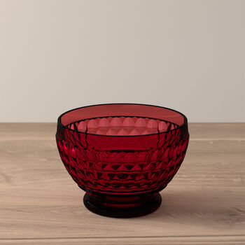 Boston Colored Individual Bowl: Red