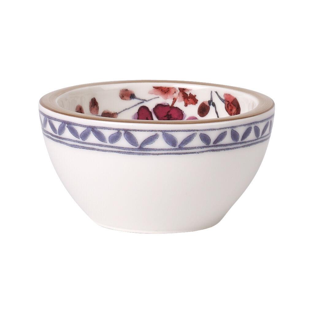 빌레로이 앤 보흐 아르테사노 소스 볼 Villeroy & Boch Artesano Provencal Lavender Dip Bowl 3 in