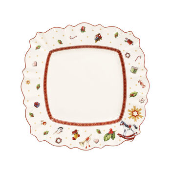 Toy's Delight Square Dinner Plate
