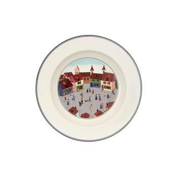 Design Naif Rim Soup #4 - Old Village Square