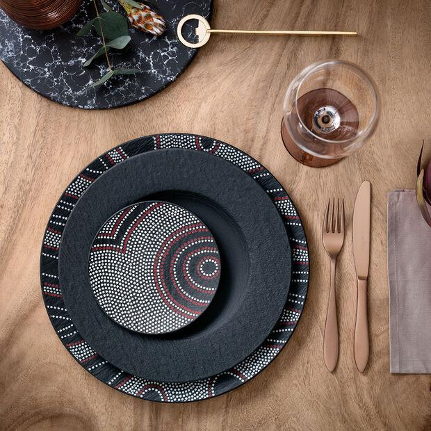 Manufacture Rock Desert Art Appetizer/Dessert Plate, , large