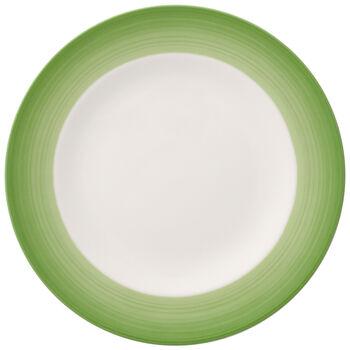 Colorful Life Green Apple Salad Plate