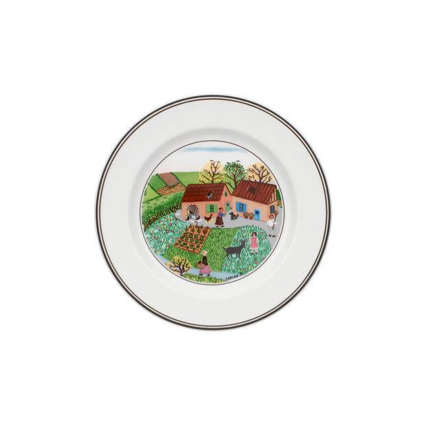 Design Naif Appetizer/Dessert Plate #5 - Family Farm, , large