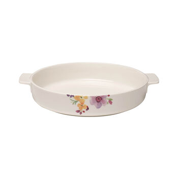 Mariefleur Basic Baking Dish Round Baking Dish, Large
