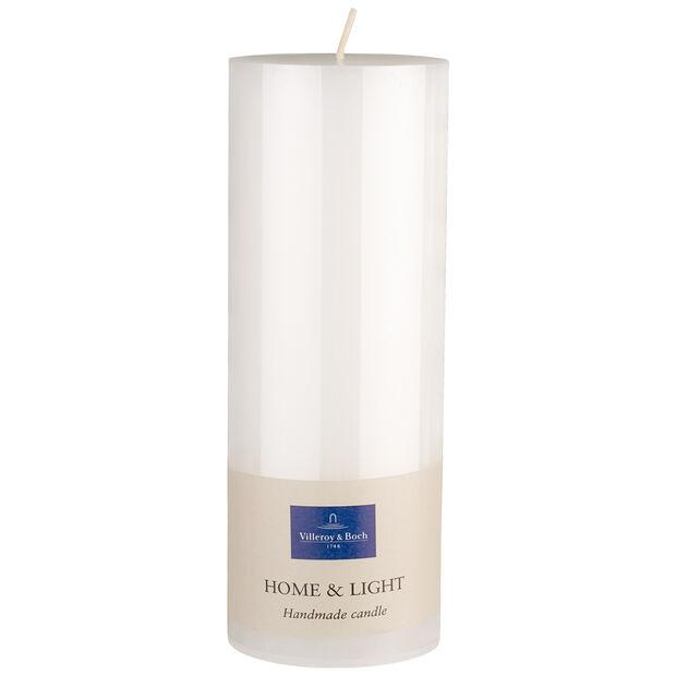 Essentials Candles White pillar 19cm, , large