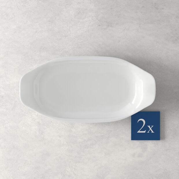 BBQ Passion Antipasti/dessert plate Set 2 pcs. 26x13x3,8cm, , large