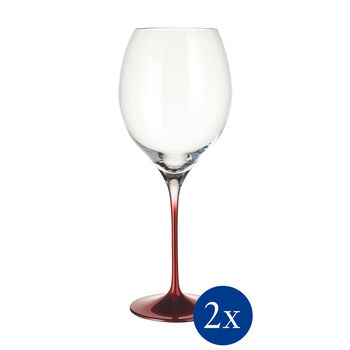 Allegorie Premium Rose Bordeaux Grand Cru Wine Glass, Set of 2