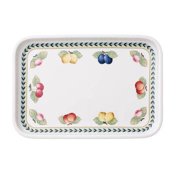 French Garden Baking Rectangular Serving Plate/Lid, Small