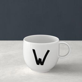 Letters Mug: W