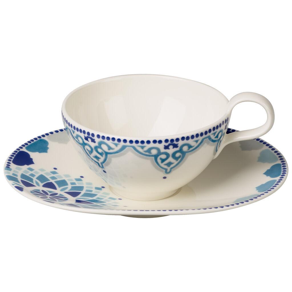 빌레로이 앤 보흐 티 패션 티컵 & 받침대 Villeroy & Boch Tea Passion Medina Tea Cup & Saucer