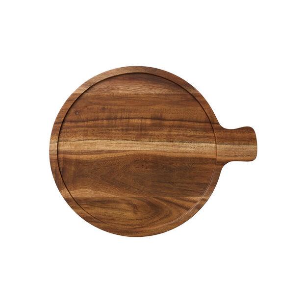 Artesano Original Wood Cover for 9.5 in Serving Bowl, , large