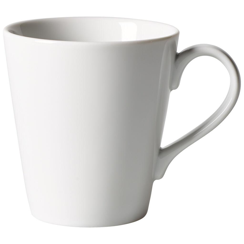 빌레로이 앤 보흐 오가닉 화이트 머그 Villeroy & Boch Organic White Mug 11.75 oz
