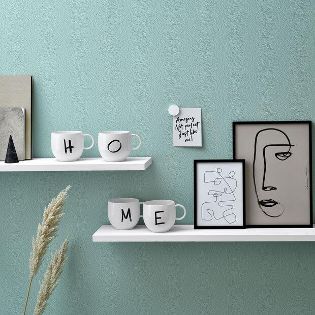 Letters Mug: H, , large