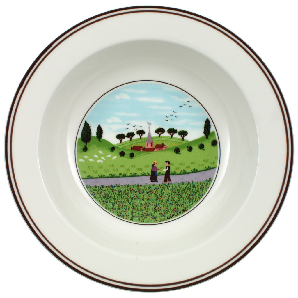 빌레로이 앤 보흐 디자인 나이프 시리얼 보울 Villeroy&Boch Design Naif Cereal Bowl - Friends Meeting