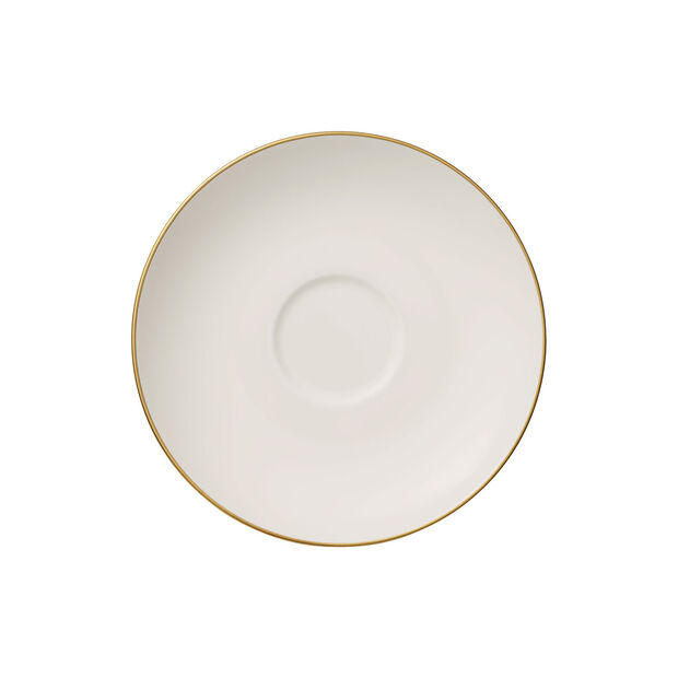 Anmut Gold Teacup Saucer, , large