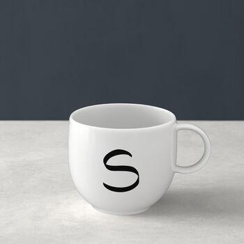Letters Mug: S