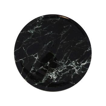 Marmory Dinner Plate: Black