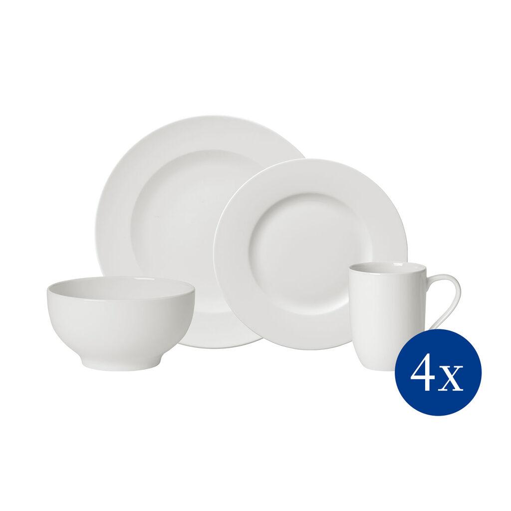 빌레로이 앤 보흐 디너웨어 세트 (16픽) Villeroy & Boch For Me 16-Pc Dinnerware Set