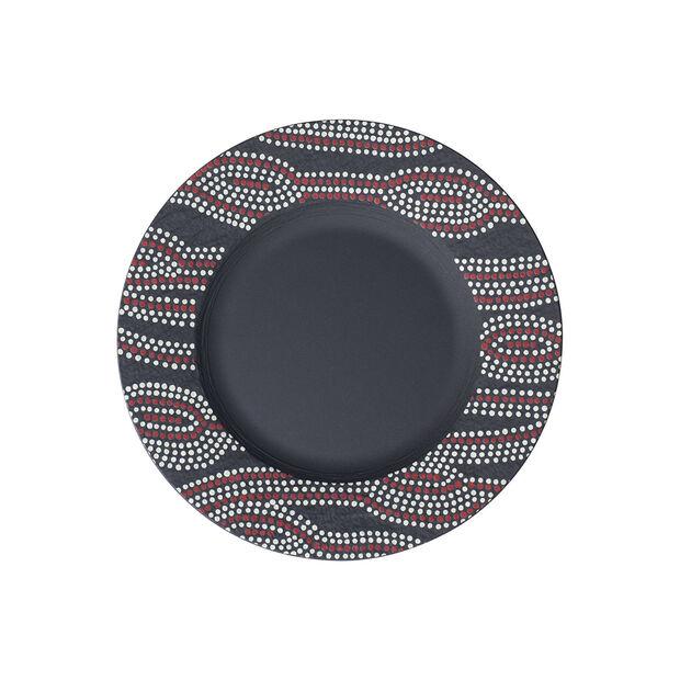Manufacture Rock Desert Art Salad Plate, , large