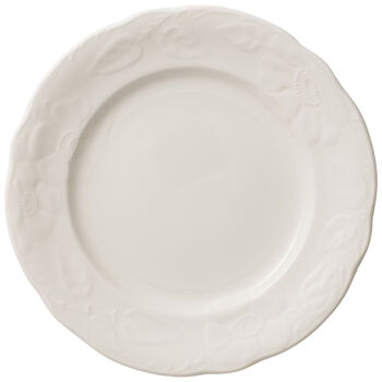 Rose Sauvage Blanche Salad Plate
