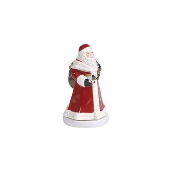 Nostalgic Melody Turning Santa Music Figurine