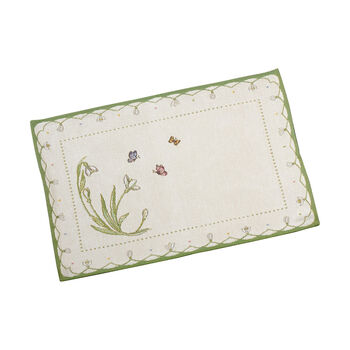 Colourful Spring Placemat: Snowdrop
