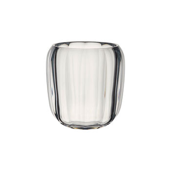 Coloured DeLight Hurricane Lamp/Small Vase: Clear