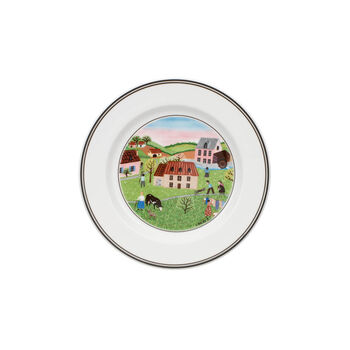 Design Naif Appetizer/Dessert Plate #2 - Spring Morning