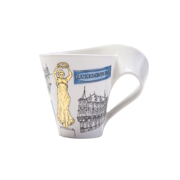 Cities of the World coffee mug Luxembourg, , large