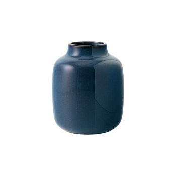 Lave Home Bleu Uni Nek Vase, Small
