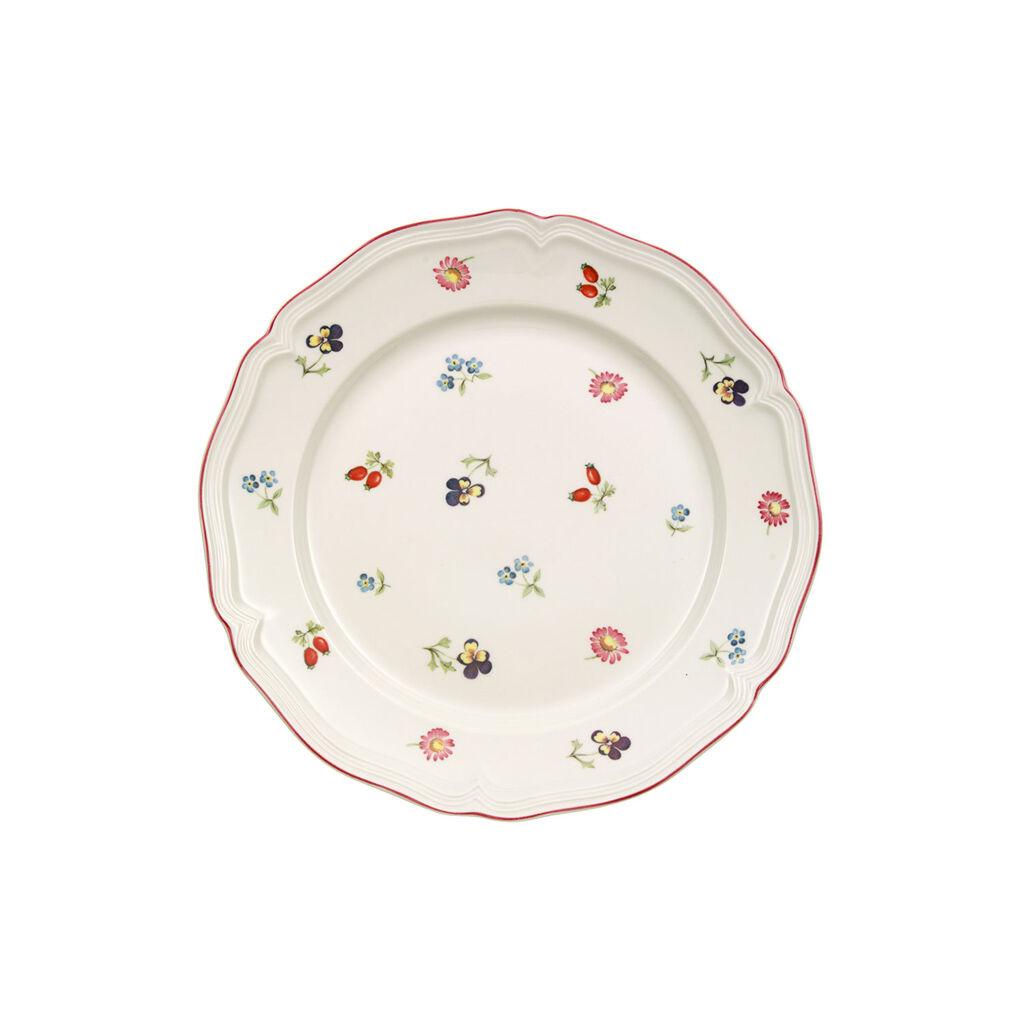 빌레로이 앤 보흐 쁘띠 플뢰르 샐러드 그릇 Villeroy & Boch Petite Fleur Salad Plate 8 1/4 in