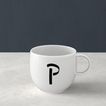 Letters Mug: P
