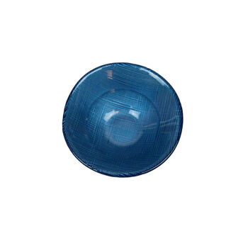Verona Glass Bowl: Blue