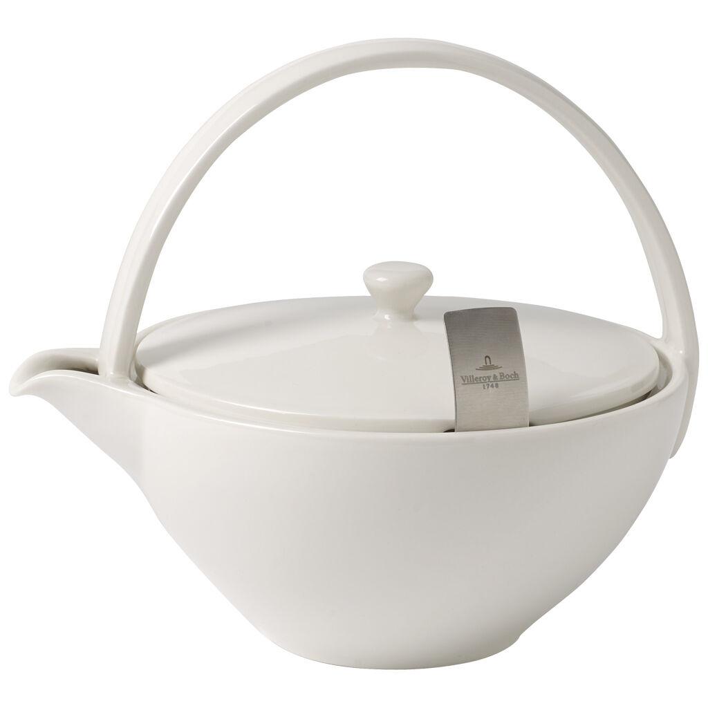 빌레로이 앤 보흐 티 패션 티팟 Villeroy & Boch Tea Passion 4-Person Teapot with Filter 8x7x7.5 in