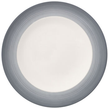 Colorful Life Cosy Grey Dinner Plate