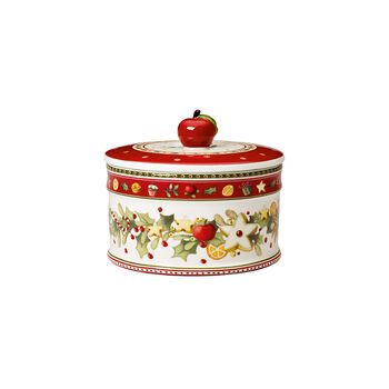 Winter Bakery Delight Covered Bowl, Medium