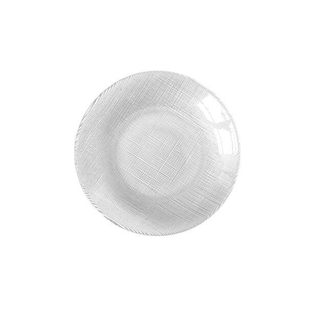Verona Glass Salad Plate: Clear, , large
