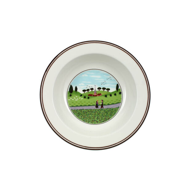 Design Naif Cereal Bowl: Friends Meeting, , large