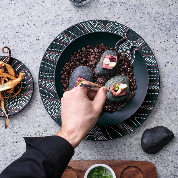 Manufacture Rock Desert Art Pizza/Buffet Plate, , large