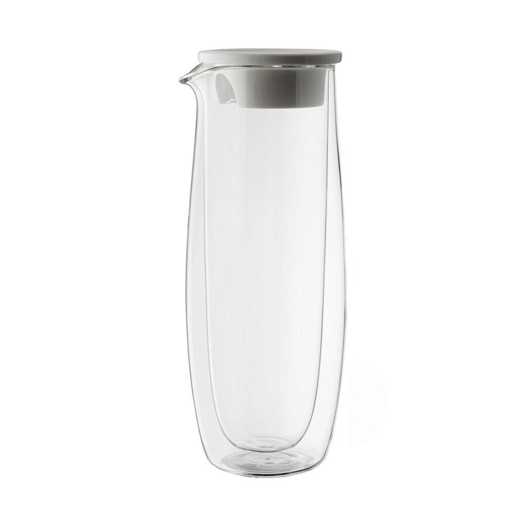 빌레로이 앤 보흐 아르테사노 물병 Villeroy & Boch Artesano Hot Beverages Glass Carafe with Lid 33 3/4 oz