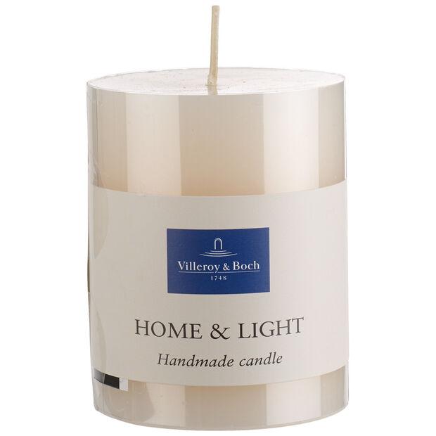 Essentials Candles Ivory pillar 9cm, , large