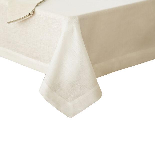 "La Classica Oblong Tablecloth: Ivory, 70x96"", , large"