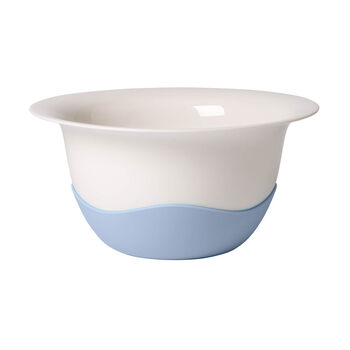 Clever Cooking Strainer/Serving Bowl: Blue