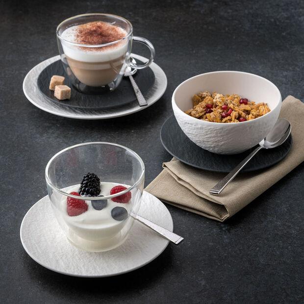 Manufacture Rock Blanc Appetizer/Dessert Plate, , large