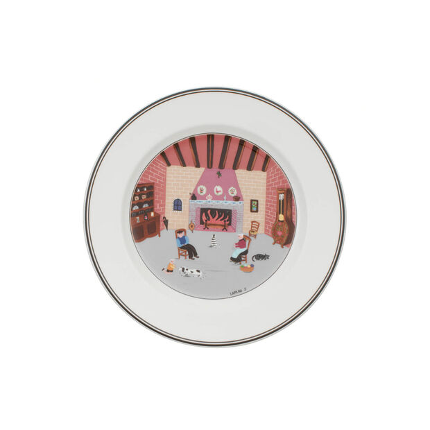 Design Naif Salad Plate #5 - By Fireside, , large