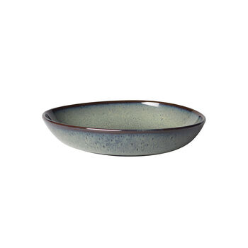 Lave Gris Flat Bowl, Small