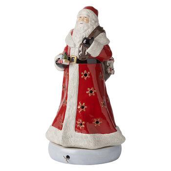 Christmas Toys Memories Santa Figurine