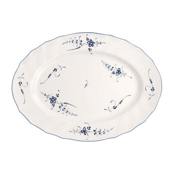 Old Luxembourg Oval Platter, Large